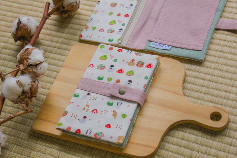【文鳥和菓】護照夾/存摺套