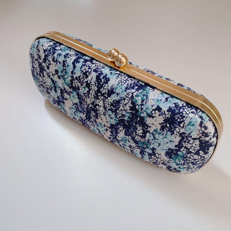 Sea glasses case / pencil case