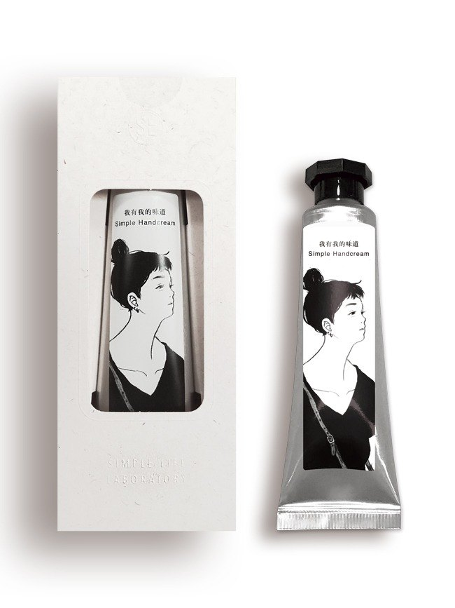 SLL Simple Handcream Hand Cream X Twelve yearning - looking (Verbena)