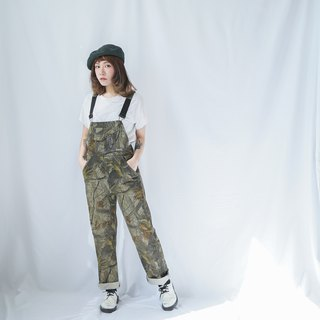 Ancient II Japanese II Camouflage Ancient Worker Pants II