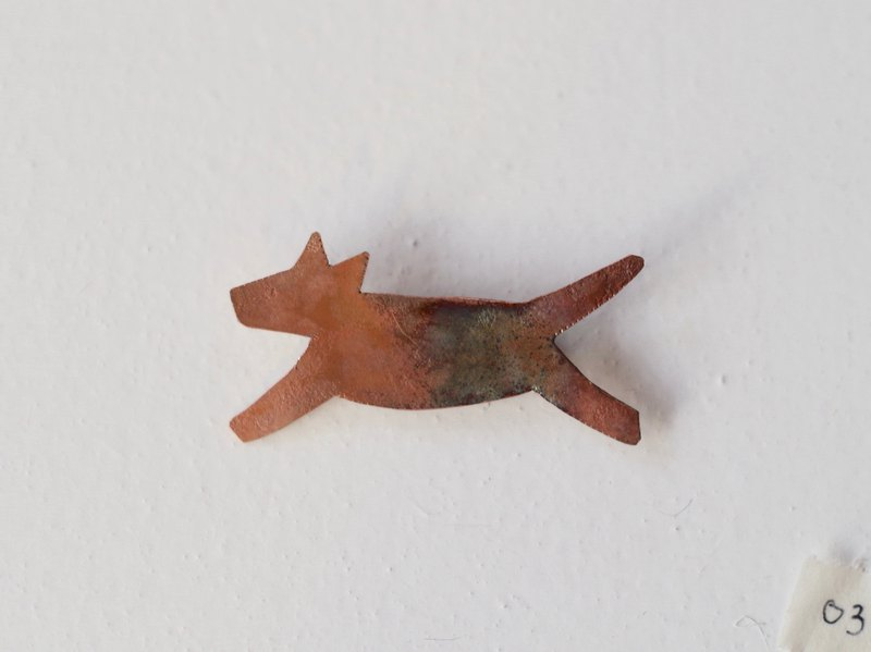wolf broach  (burnet copper) 03