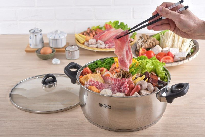 Stainless steel Fuxiang hot pot 6.0L