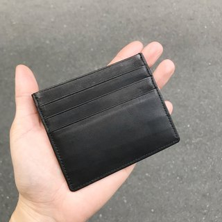 Sienna leather card holder (can be used as a simple wallet)