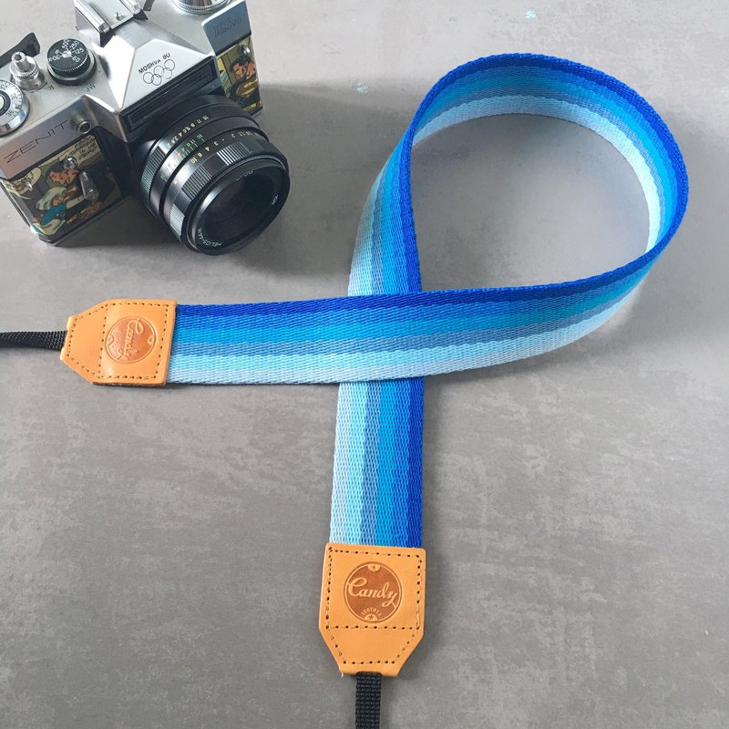 Navy Blue Mirrorless or DSLR Camera Strap