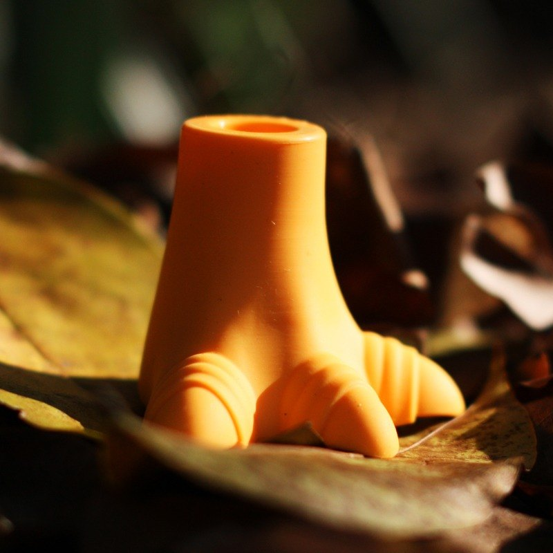 footprint﹝umbrella ottomans﹞/ Dinosauria /【tree orange】