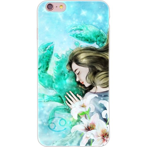 "New Year Series - florid constellation Cancer [] - Yi Dai Xuan -TPU phone case ""iPhone / Samsung / HTC / Sony / millet / OPPO"""