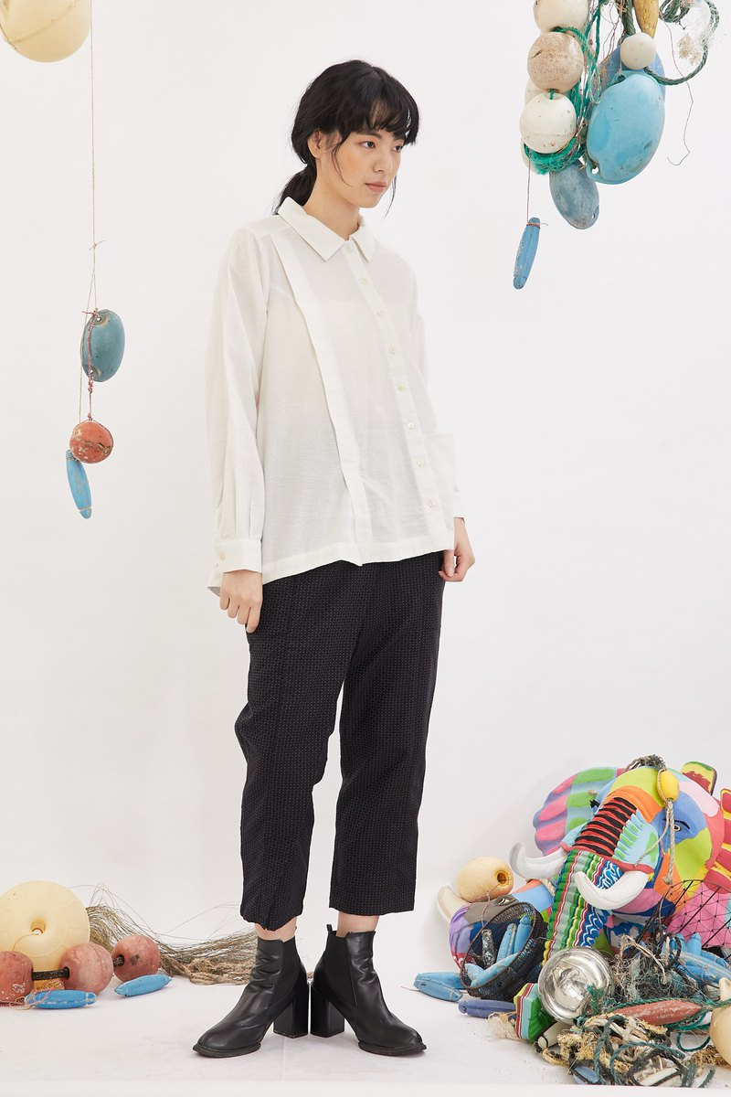 Right double front shirt _ pearl diamond _ fair trade