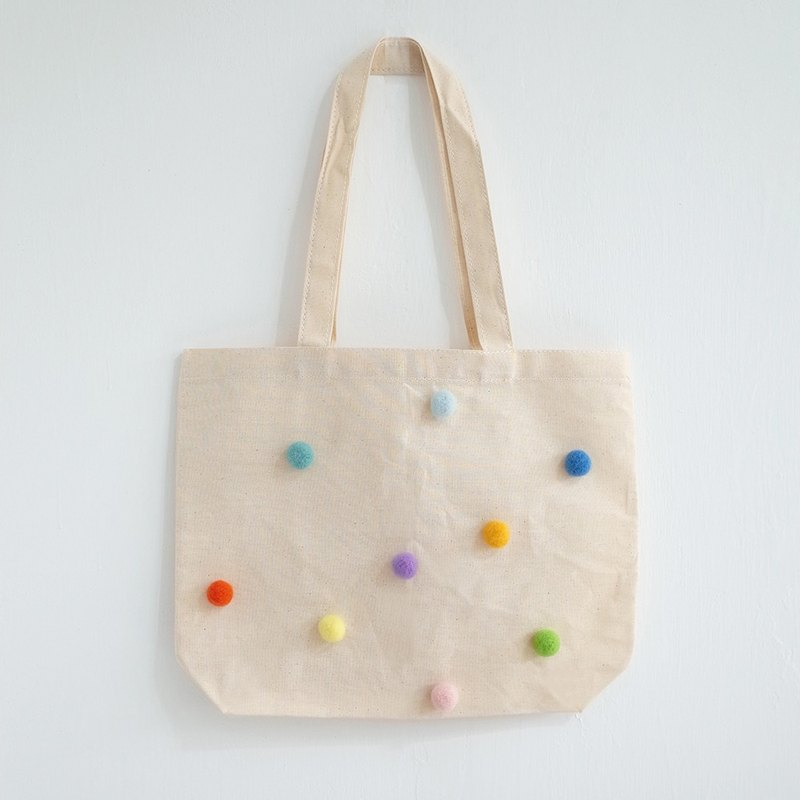[Q-cute] bag series - colorful ball
