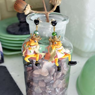 TIMBEE LO Little Frog Prince Doll Earrings