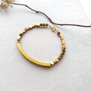 [surround]. Brass bracelet