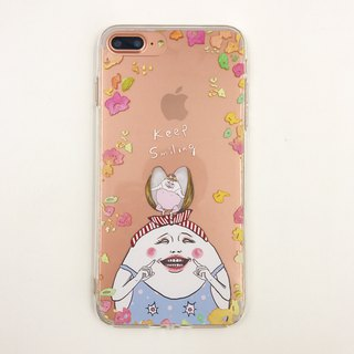 keep smiling -  iPhone case