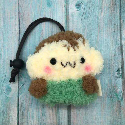 Marshmallow Animal Key Bag - Small Key Bag (Little Monkey)