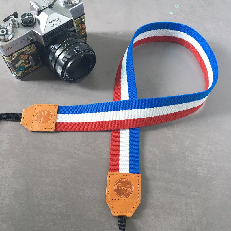 France  Mirrorless or DSLR Camera Strap