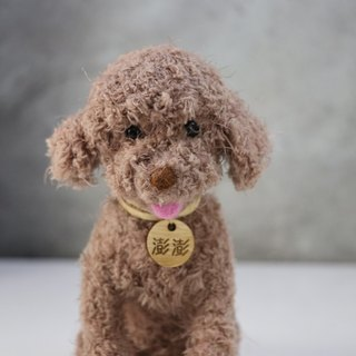 13~15cm [feiwa 霏 hand made] VIP dog pet doll (welcome to order your dog)