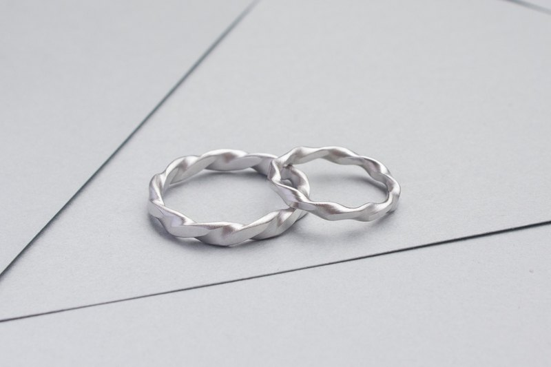 Subtle Twist Ring