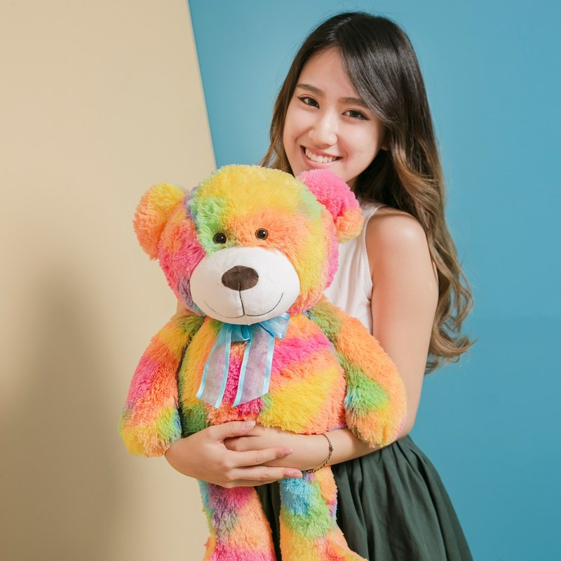CANDY BEAR 25吋 Rainbow Candy Bear