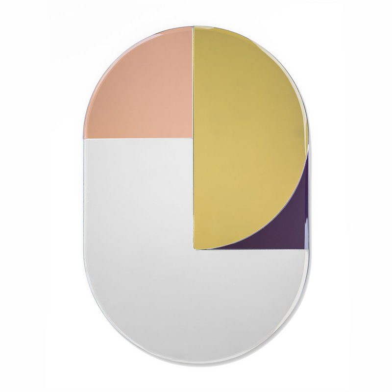 Amabro COLOR MIRROR mirror / oval