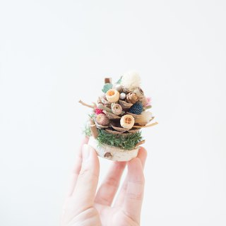 Building | Christmas Tree [Small Christmas & Pinecone] | Pinecone & Christmas & Blessing