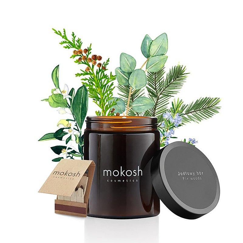 MOKOSH | 遍野杉木林 精油蠟燭