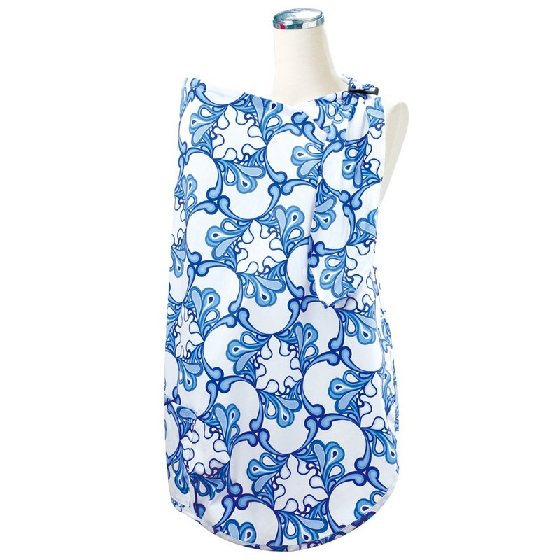 Hide-And-Seek Baby Nursing Cover - Pacific Waves