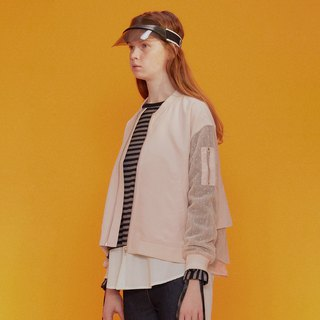 WOMENS BOMBER JACKET / Rose Pink