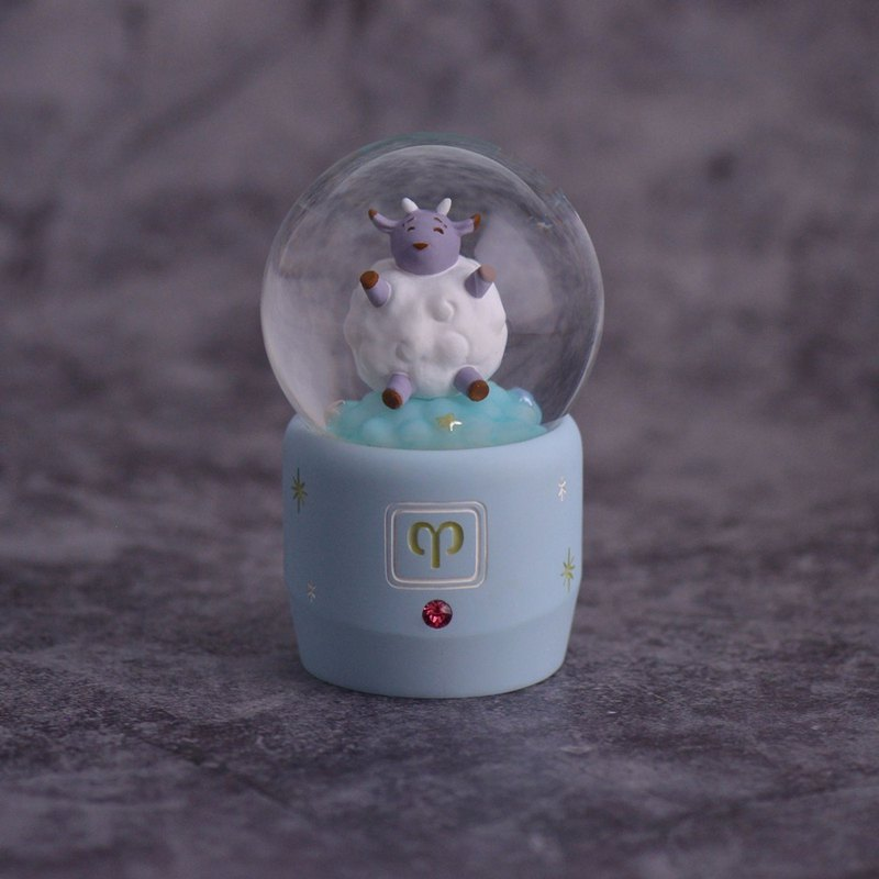 Cute Constellation Series - Mut Crystal Ball Decoration Shu Pressure Healing Birthday Valentine's Day Exchange Gift