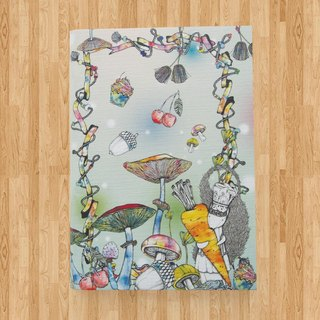 Notebook A6 - The Wonderland Collection ( Light Green )