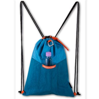 CAREAN waterproof anti-theft intimate admission water blue multi-functional beam mouth backpack
