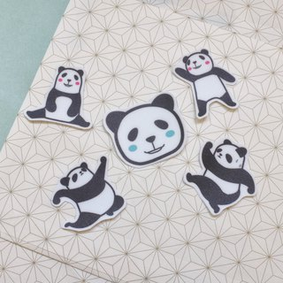 | Waterproof Stickers | Pandaren