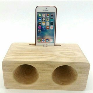 Micro forest. Watts section. Double hole wood speaker. Speaker