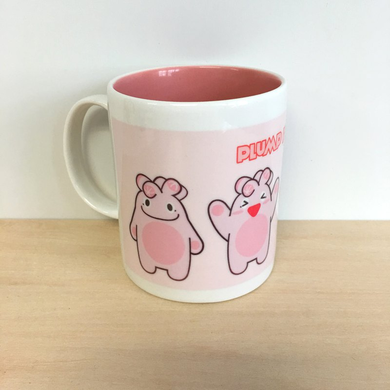 【Plump Planet Friends】Ceramic cup | Sakura Yulu