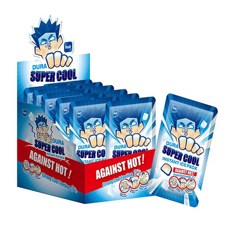 DURA quick attack cooling - ice pack _1 box 12 into