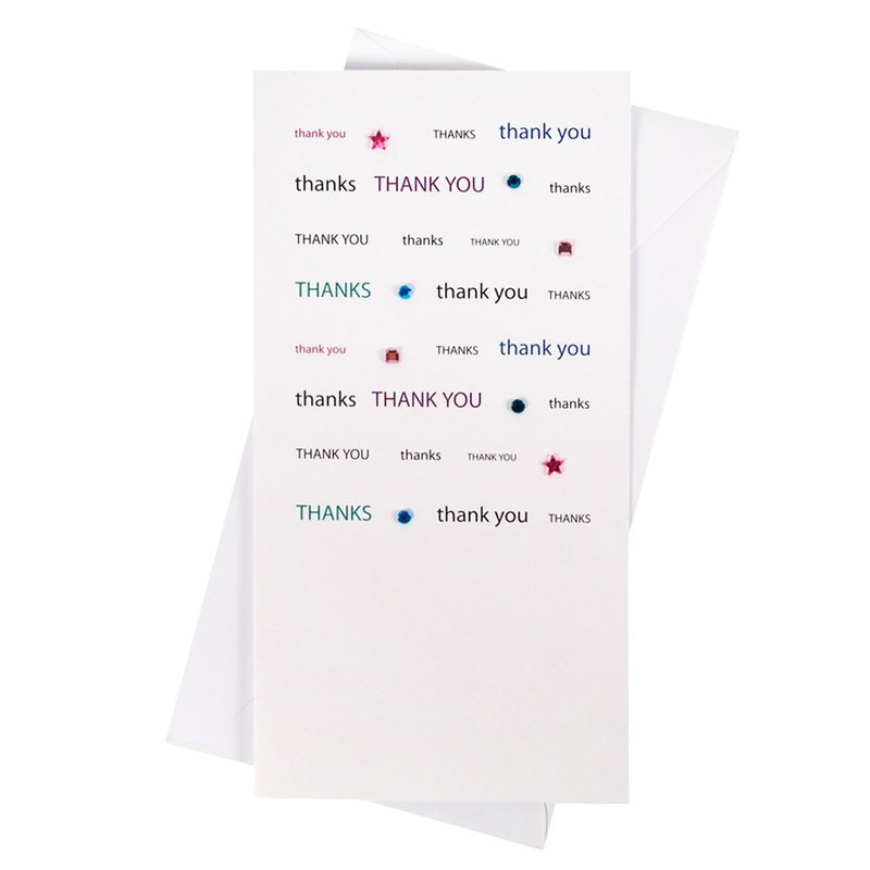 Thank you very much [Hallmark-card unlimited thank you]