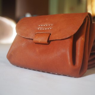 Leather pouch bag