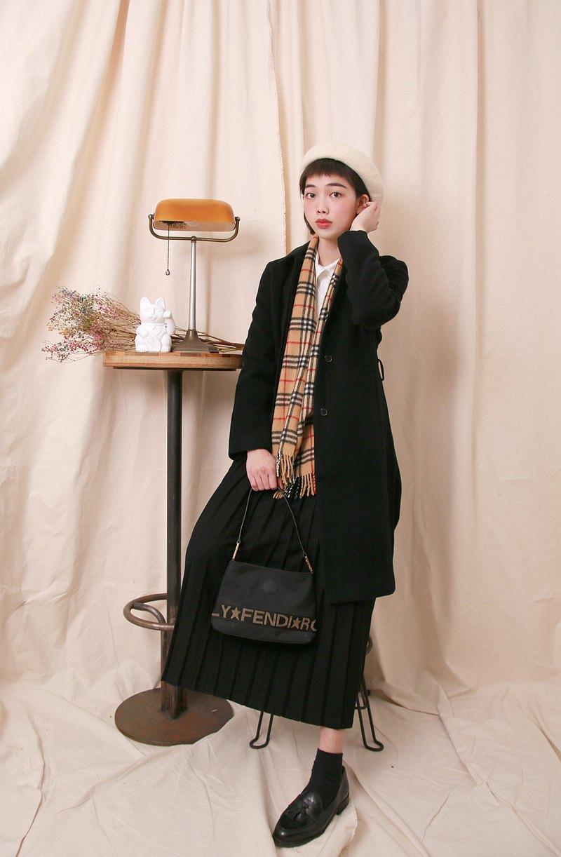 Back to Green:: 羊毛大衣 合身 日本製 vintage overcoat