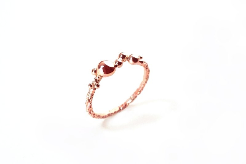 Marine # 4 [tail ring] [rose gold]