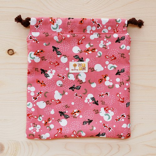 Small Goldfish Drawstring Pocket (Large)