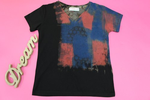 Big City Beauty Hand Painted T-shirt