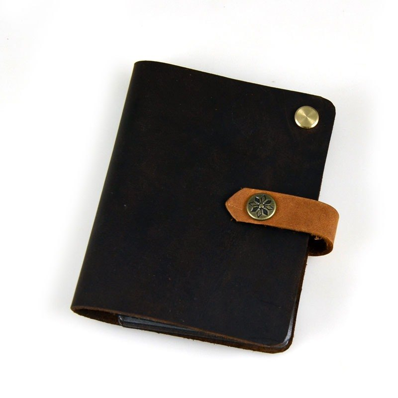 (U6.JP6 handmade leather) sets this card, credit card present, card package, card storage bag, credit card holder, name card