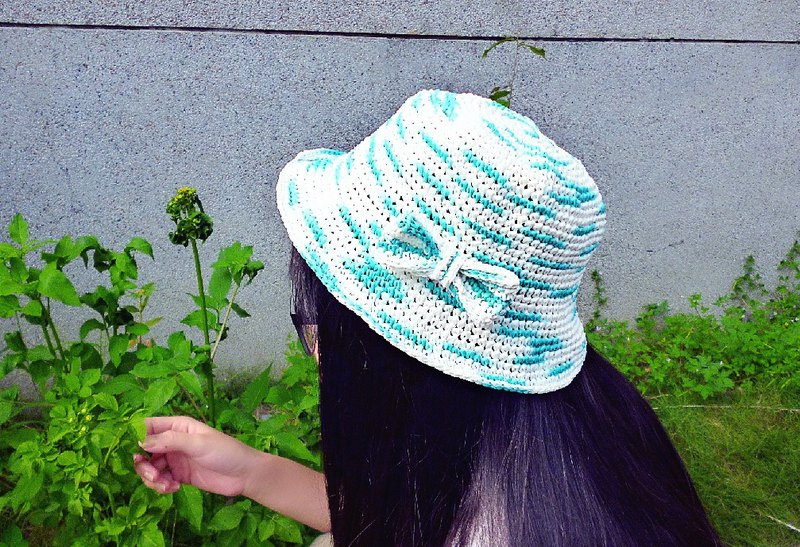 [Clear Product] Butterfly Raffi Straw Hat