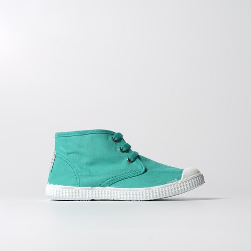 Spanish nationals canvas shoes, children's shoes CIENTA savory green gemstone size shoes 6099778