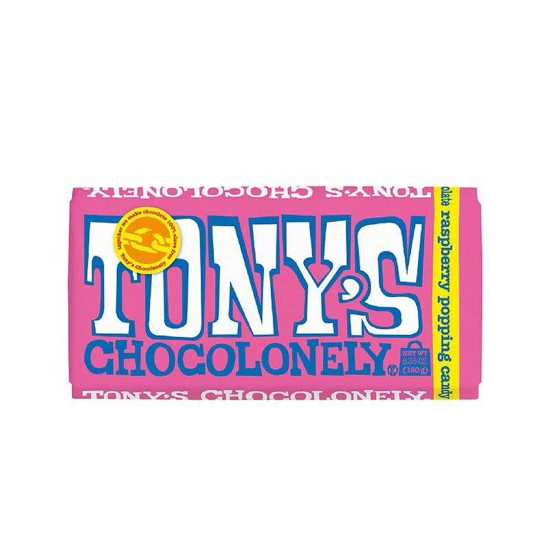 東尼寂寞巧克力_覆盆莓跳跳糖白巧克力_公平貿易