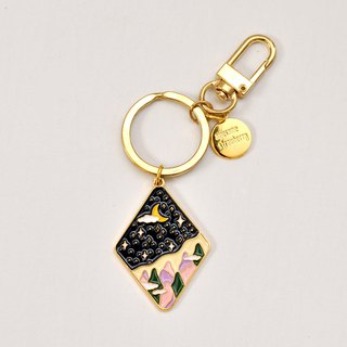 A. Strawberry Sleeping Forest Keyring s1 - Two