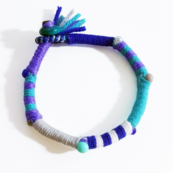 Guess who wantonly zero / cartoon monster series / hand-woven bracelet / foot ring