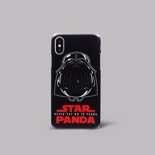 Pandahaluha darth panda iPhoneX hard case ARIPHX-OL / PH-35