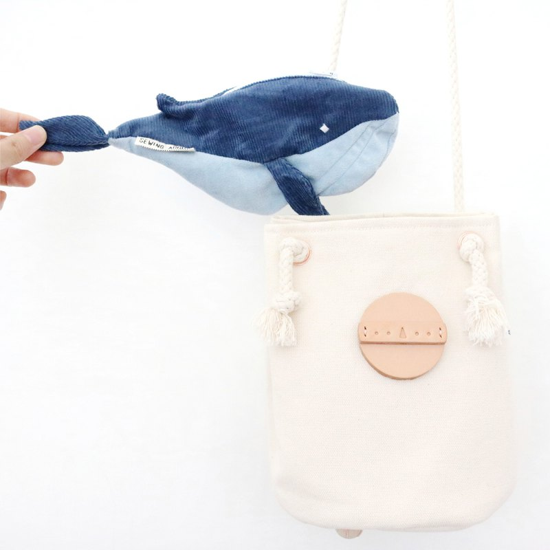 Whale universal miscellaneous bag cosmetic bag purse small bag