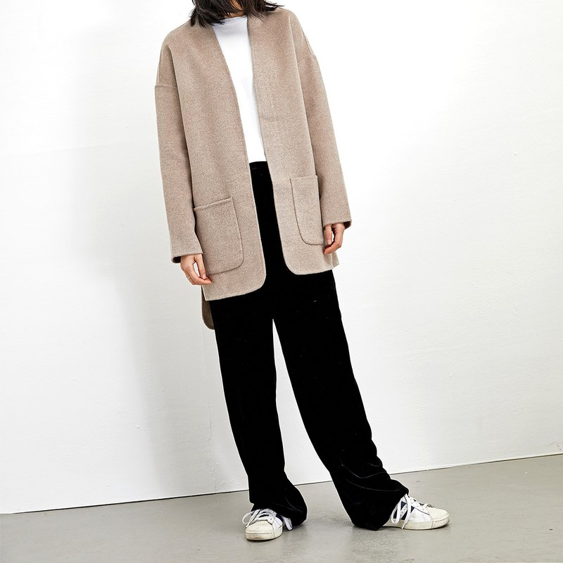 GAOGUO ORIGINAL FASHION BRAND WOOL COAT