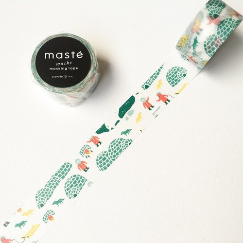maste Xmas and paper tape [igloo (MST-MKT170-D)]