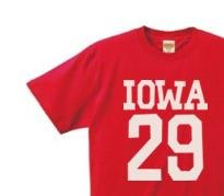 Iowa number one side XS ~ XL T-shirt order product]