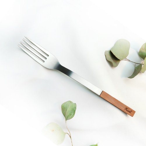 [KROLL] pure titanium home fork yew - limited edition